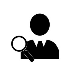 search people symbol icon icon simple element vector image