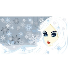Snow queen vector