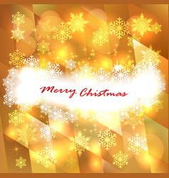 Soft golden christmas lights - festive bokeh vector