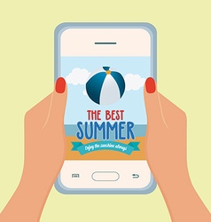 Summer Vacation Promotion vector image