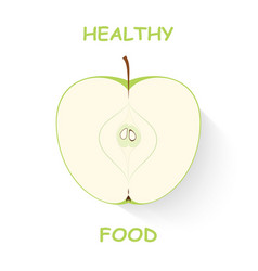 Apple Plan vector image
