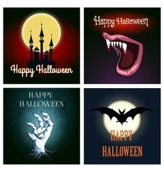 Halloween Theme Set vector image