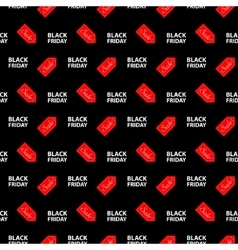Banner Black Friday sales vector image