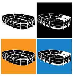 stadium symbol vector image