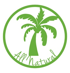 An all natural label vector