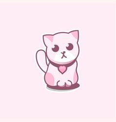 Cute cat vector