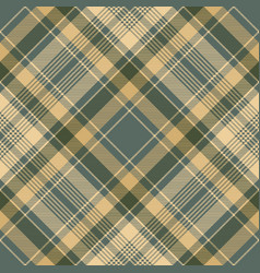 Diagonal fabric texture check plaid seamless vector