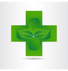 Green pharmacy 001 vector