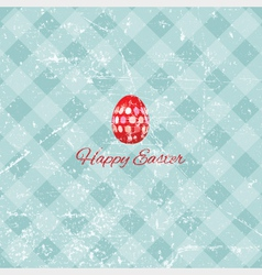 Grunge Easter background vector image