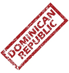 New Dominican Republic rubber stamp vector image