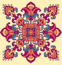 Oriental geometric pattern vector