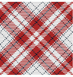 seamless pattern scottish tartan plaid vector image
