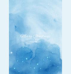 winter christmas background design vector image
