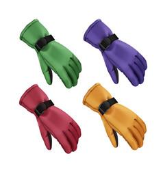 Winter gloves set vector