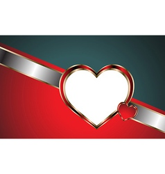 Love-business card vector image