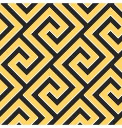 seamless Greek ornament Meander vector image vector image