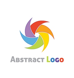 Abstract logo template vector image vector image