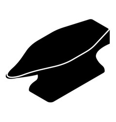 anvil icon simple black style vector image