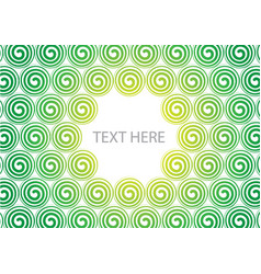 colorful spiral background vector image