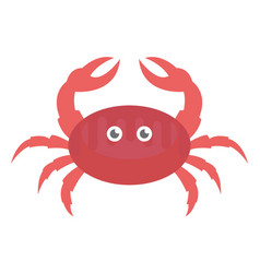 Crawl crab vector