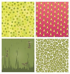 fruit texture set 3 vector image