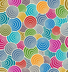 Funky style seamless pattern vector