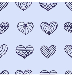 lace heart light vector image