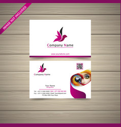 latest business card vector image