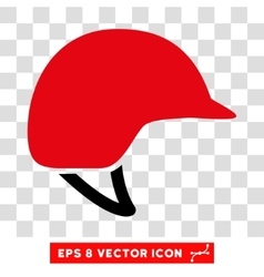 Motorcycle Helmet Eps Icon vector image