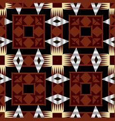 native tribal ethnic style geometric seamless vector image