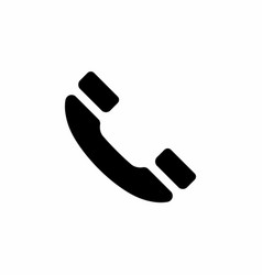 old handphone flat icon vector image