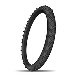 Tire tread vector