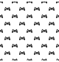 Video game controller pattern simple style vector