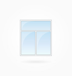 window frame eps 10 vector image