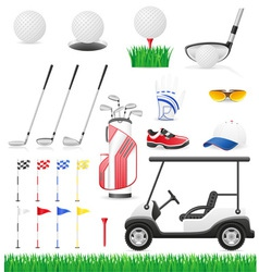 golf 15 vector image vector image