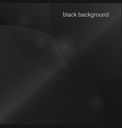 black abstract background for your design vector image