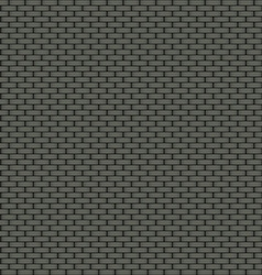 Dark brick wall seamless background vector image vector image