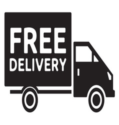 Delivery truck2 resize vector image