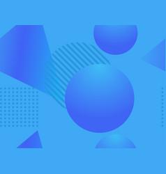 Geometric shapes seamless pattern zine culture vector
