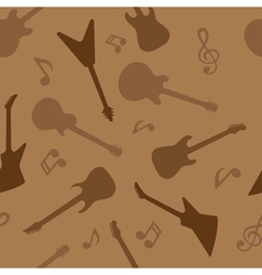 guitar seamless 3 vector image
