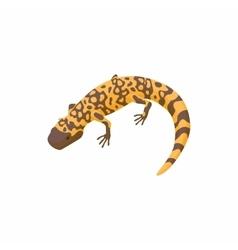 Lizard icon cartoon style vector image