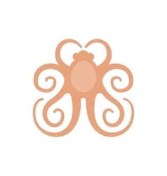 picture of a logo octopus vector image