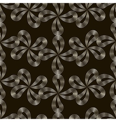seamless pattern Stylish repeating texture Floral vector image