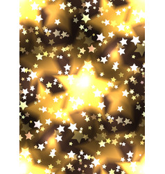 seamless texture with a luxurious gold stars and vector image