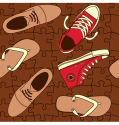 Shoe wallpaper vector