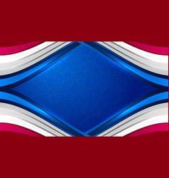 usa background for independence day vector image