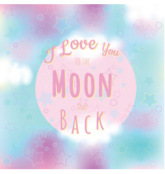Valentine card modern romantic background vector