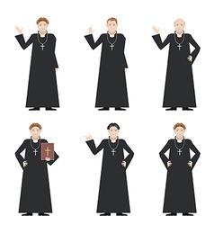 Cardinal - Catholic priest vector image
