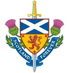 Symbol of Scotland vector image vector image