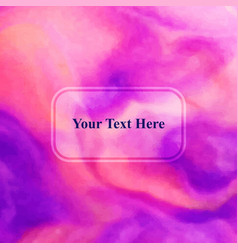 Abstract composition text frame surface cover vector